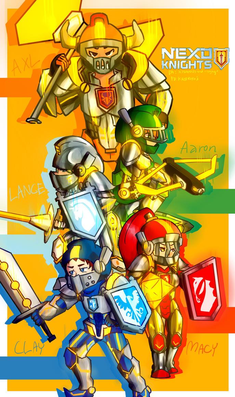 Nexo Knight Wallpaper By Khwan123 And Ninjago