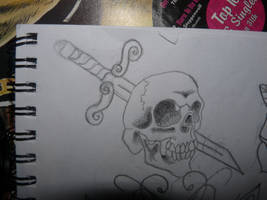 Skull And Sword by Emmieloo