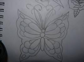 butterfly by Emmieloo