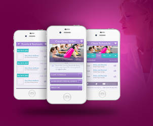 yogaMobileApp by 11thagency