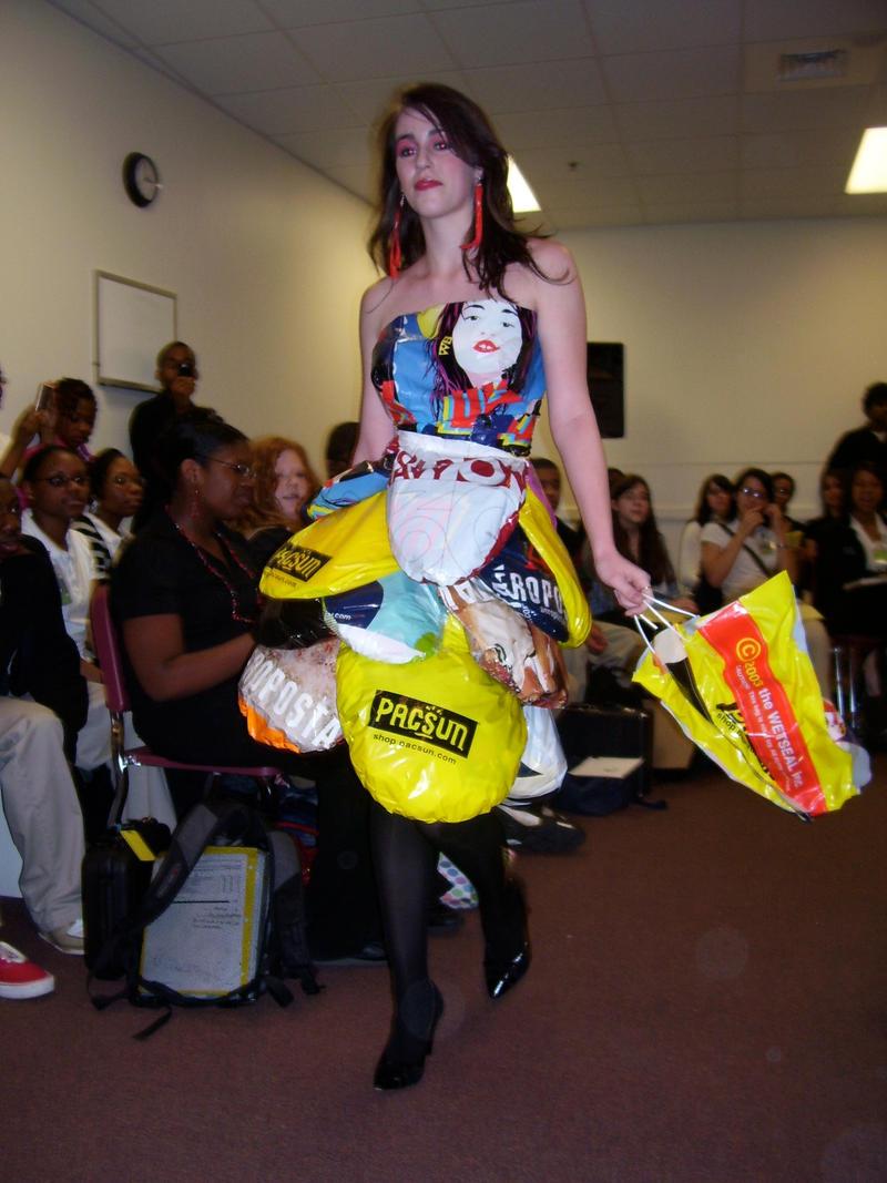 Shopping Bag Dress | Bags More