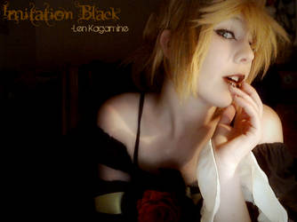 Imitation Black - Len Kagamine by Len-kyun