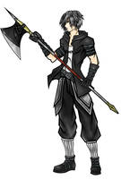 F.E.Z dark warrior by renzantolin