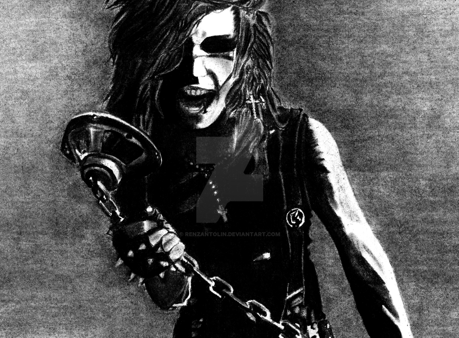 Andy Biersack BVB by renzantolin
