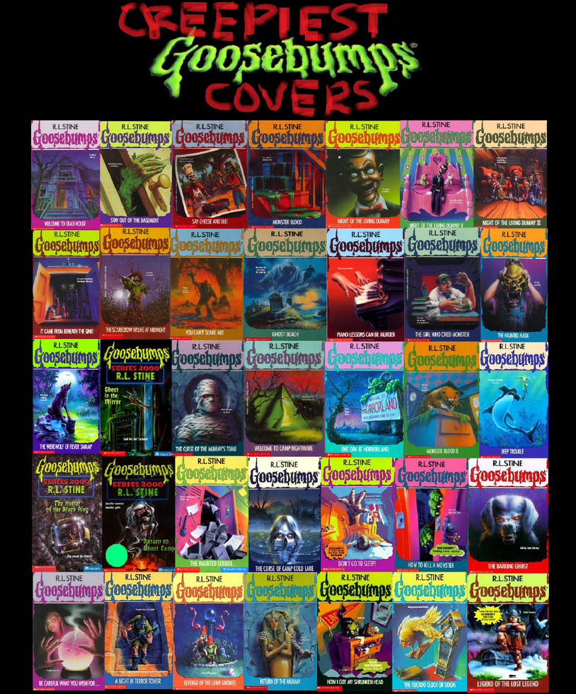 Goosebumps Book Cover Art : Creepiest goosebumps covers by shadowstalker on deviantart