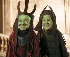 The Koch Brothers are Nute Gunray and Rune Haako
