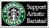 Support Artistic Baristas by f0rtunatef00l