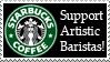 Support Artistic Baristas by f0rtunatef00l