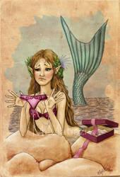 Mermaid's wrong gift by Matiazi