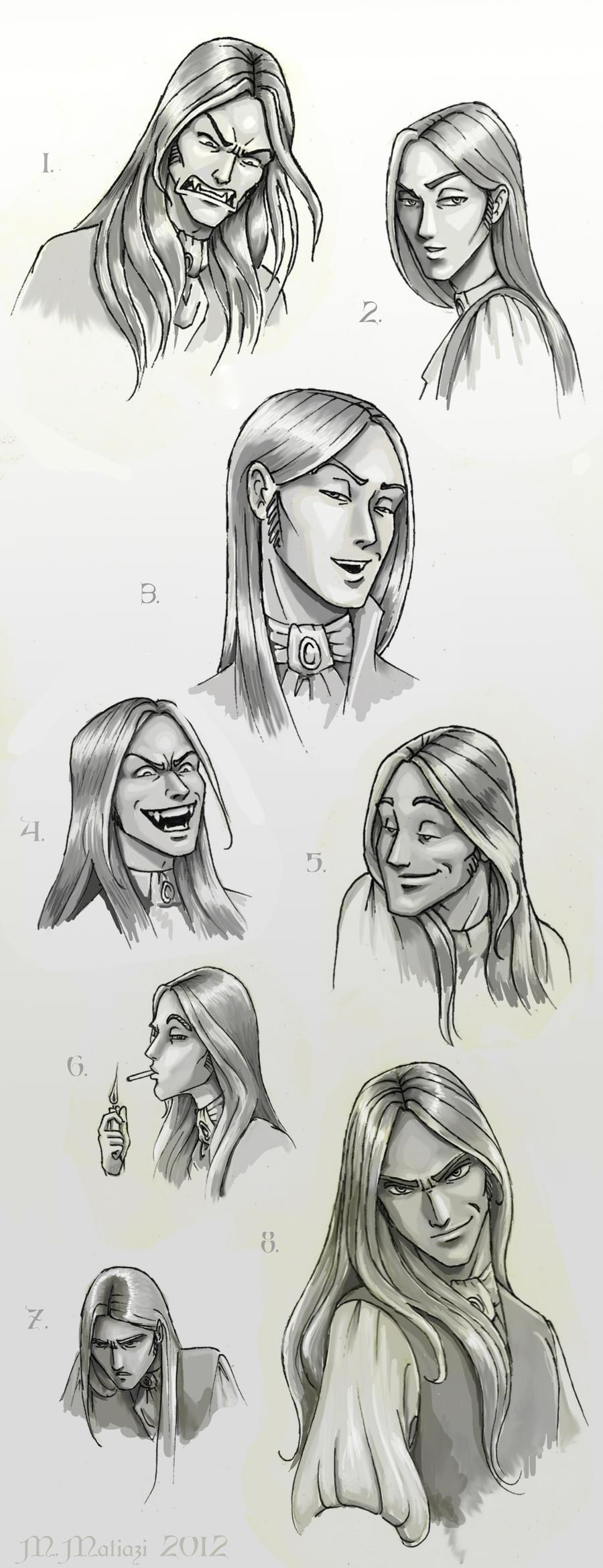 Portfólio M. Matiazi - Página 3 Jade__s_faces_by_matiazilustrando-d4ukvvc