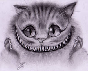 The Cheshire Cat by Nnyon