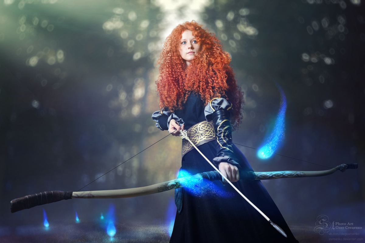 Brave (Merida cosplay) by Stetsenko