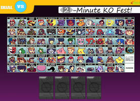 ssb Falase Alarm 3ds roster by ToxicIsland