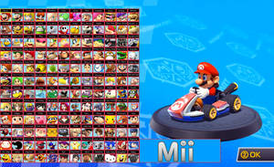 Mario Kart 8.5 Roster by ToxicIsland