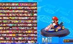 Mario Kart 8.5 Roster