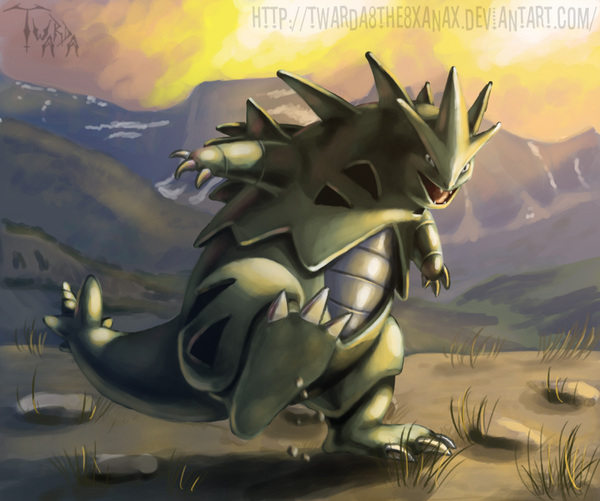 Tyranitar by Twarda8 on DeviantArt