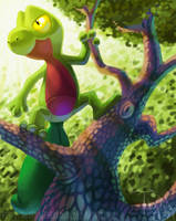 Treecko by Twarda8