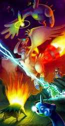 Pokemon: vs Reshiram by Twarda8