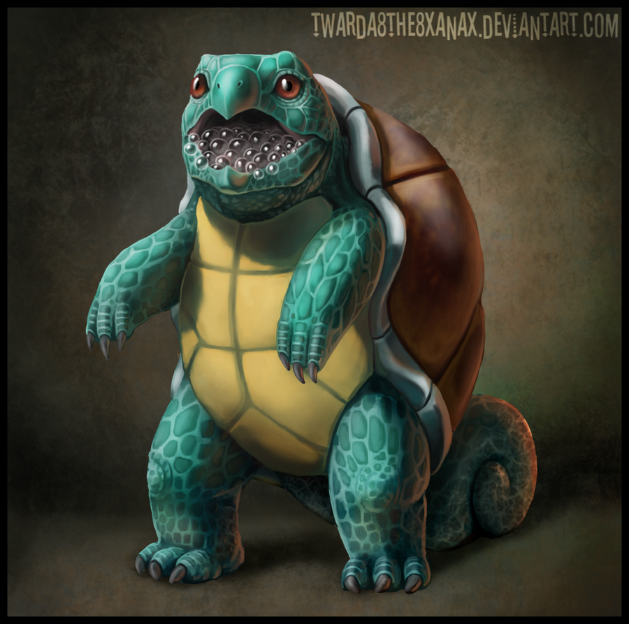Realistic Squirtle by Twarda8