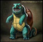 Realistic Squirtle by Twarda8