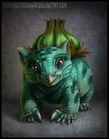 Realistic Bulbasaur by Twarda8