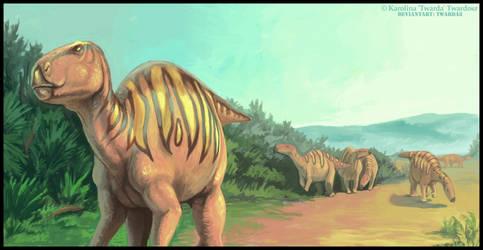 Dinosaur scene by Twarda8