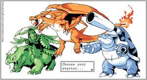 Choose your starter by Twarda8