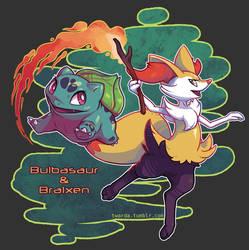 New Adventure: Bulbasaur and Braixen