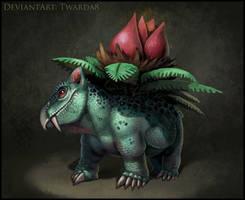 Realistic Ivysaur by Twarda8