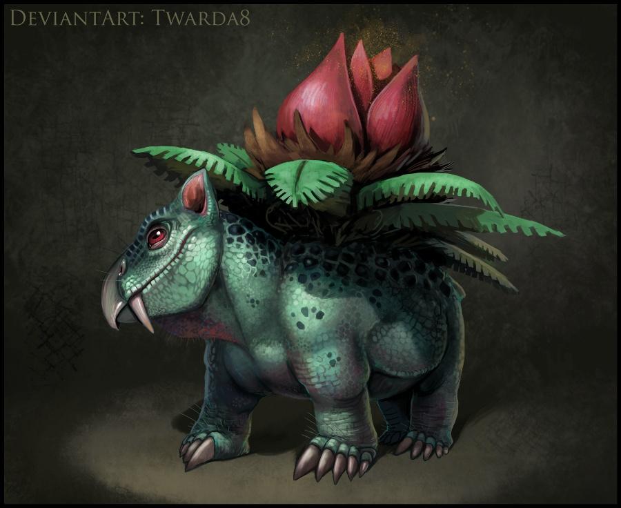 Realistic Ivysaur by Twarda8 on DeviantArt