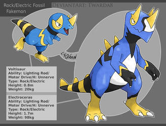 Fakemon: Electric Fossils