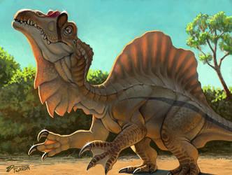 Spinosaurus - 3DS art by Twarda8