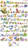 Project Shiny Pokemon: Johto's New Pokedex by Twarda8