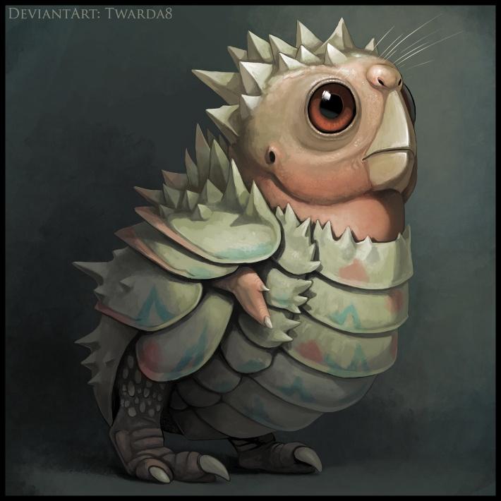 Realistic Togepi by Twarda8