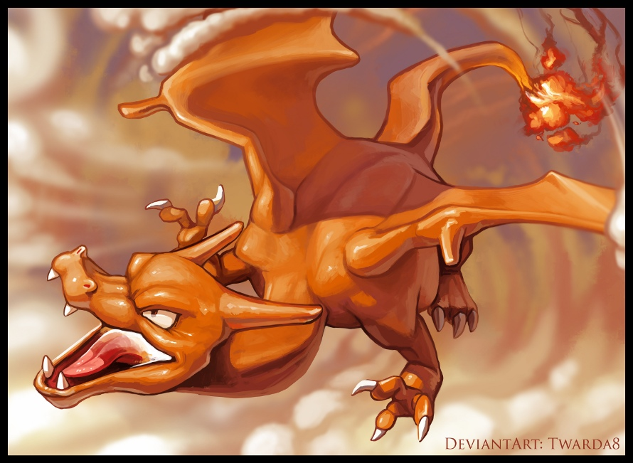 Pubg By Sodano On Deviantart: Charizard (regular) By Twarda8 On DeviantArt