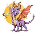 Spyro by Twarda8