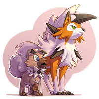 COM: Rockruff and Lycanroc
