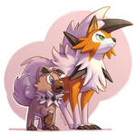 COM: Rockruff and Lycanroc