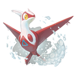Latias used Mist Ball by Twarda8