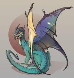 Comm: Dragon by Twarda8