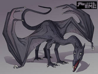 Dark Dragon by Twarda8
