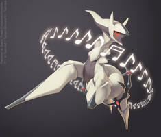 Arceus used Perish Song!