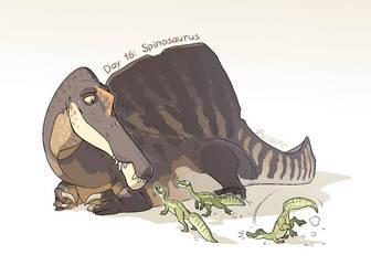 16. Spinosaurus