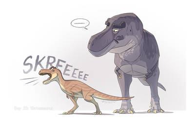 23. Tarbosaurus
