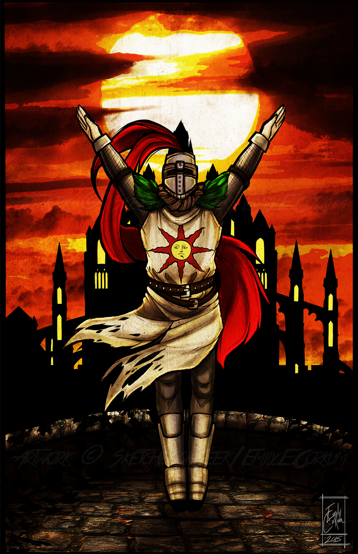 [PRAISE THE SUN] by SketchbookGeek