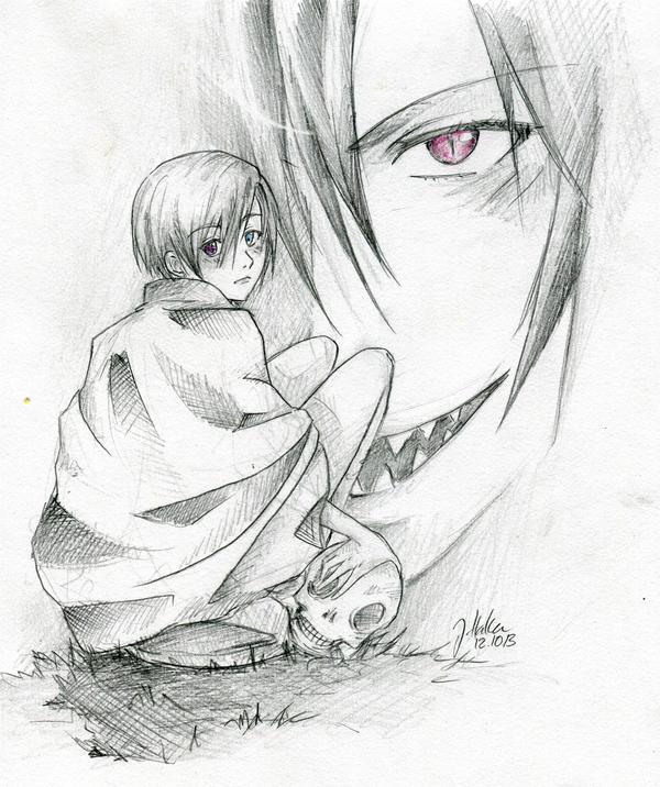 Contract - Kuroshitsuji Ciel and Sebastian by BlackCherryCookie