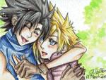 FFVII - Zack and Cloud #1