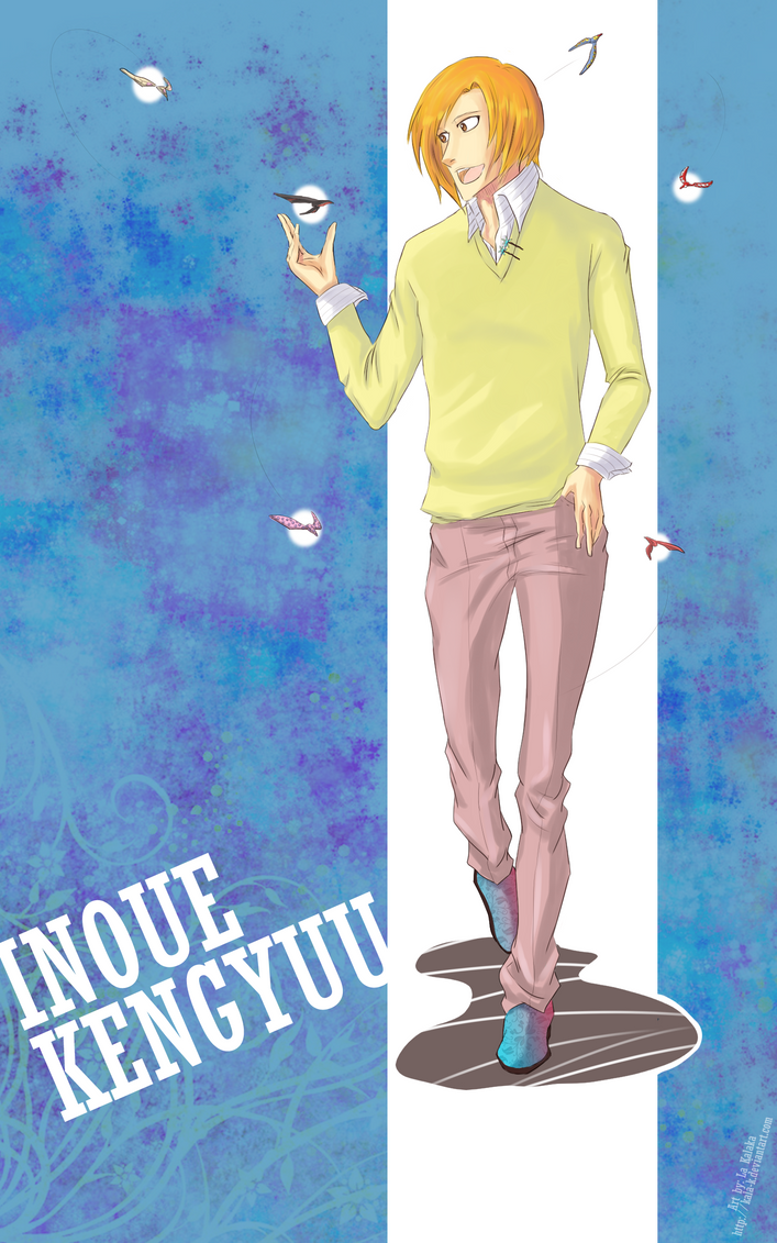 Inoue Kengyuu by kala-k