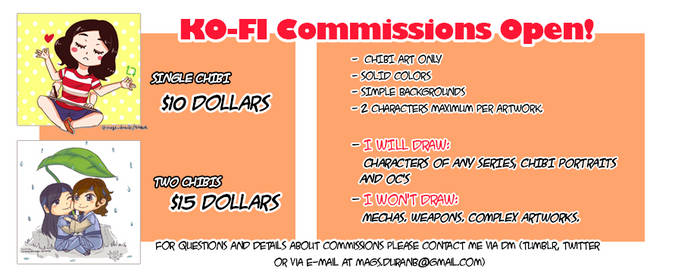 CHIBI COMMISSIONS ARE OPEN!!