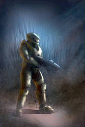 Halo Guy by pixelOgre